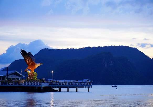 The lovely sight in Langkawi