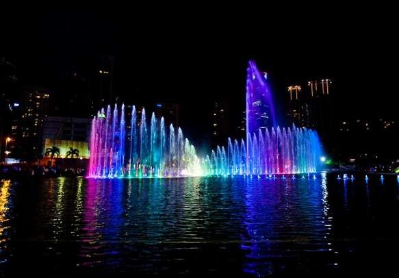 Marvel at the scenery of  Kuala Lumpur
