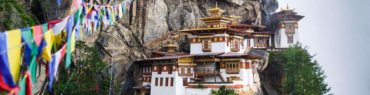 Taktsang Monastery In Paro
