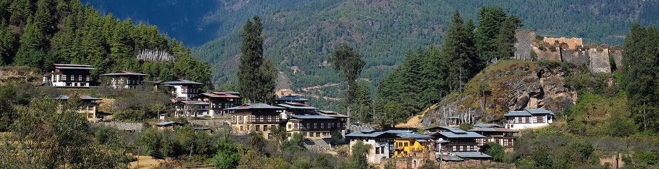 Drukgyel Dzong In Paro