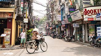 Explore The Old Quarter in Hanoi