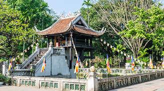 The Unique One Pillar Pagoda