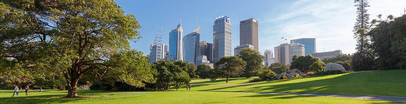 Hyde Park In Sydney