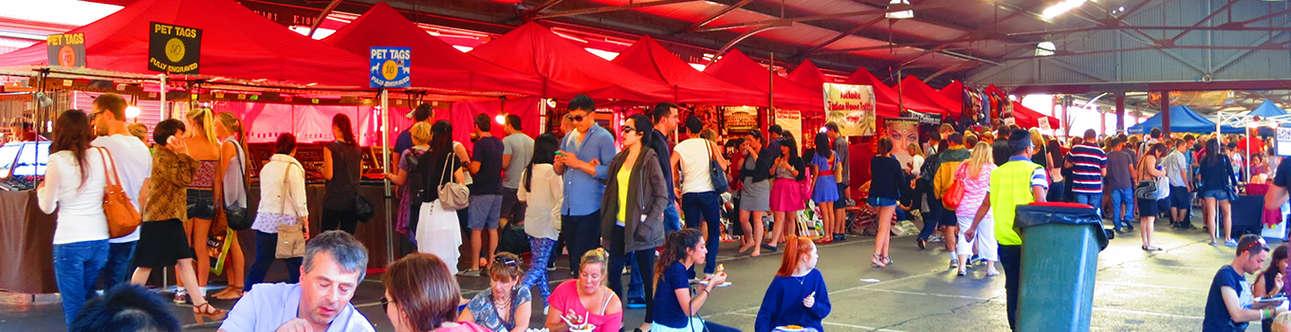 Night market In Melbourne