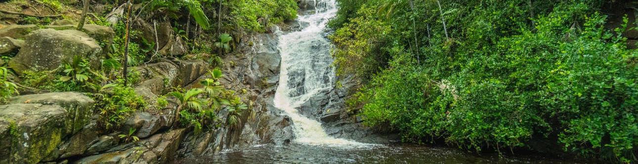 Take a relaxing dip in stunning waterfalls