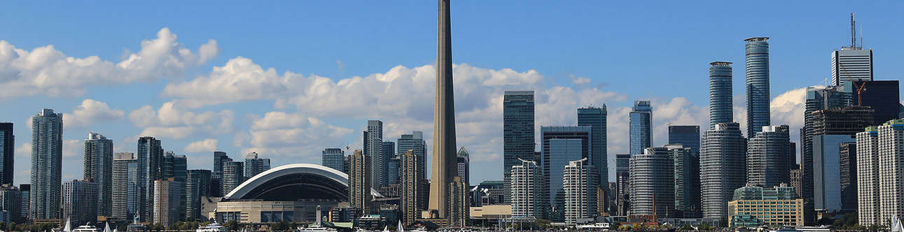 Enjoy at the CN-Tower in Toronto