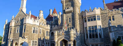 An amazing place to be at Casa-Loma in Toronto