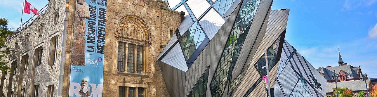 An amazing place to be at Royal Ontario Museum