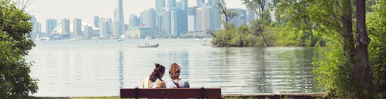 Toronto Islands In Toronto