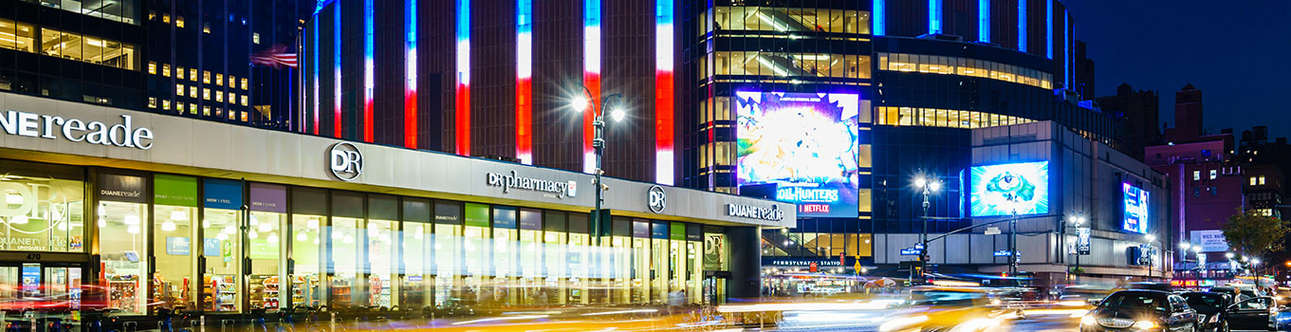 Enjoy in the Madison Square Garden
