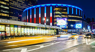 See the beauty of Madison Square Garden