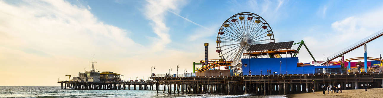 Enjoy here at Santa-Monica-Pier