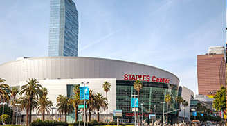 Have fun in Staples-Center at Los Angeles