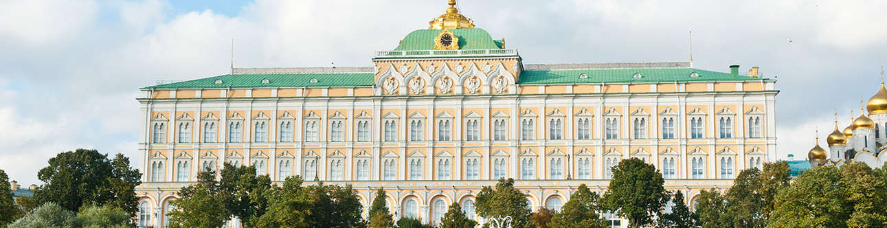 Visit the Grand Kremlin Palace in  Russia