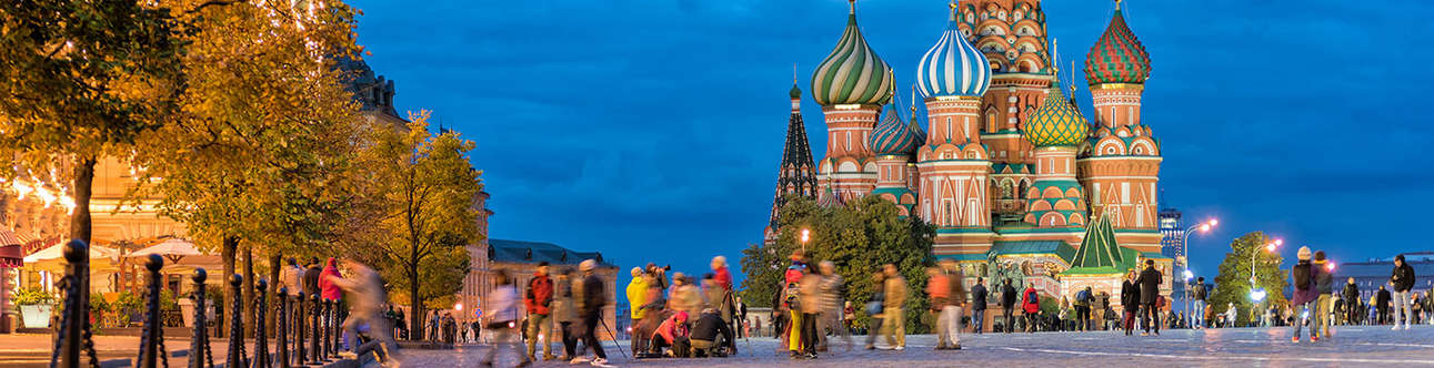 Majestic St. Basil's Cathedral in Moscow
