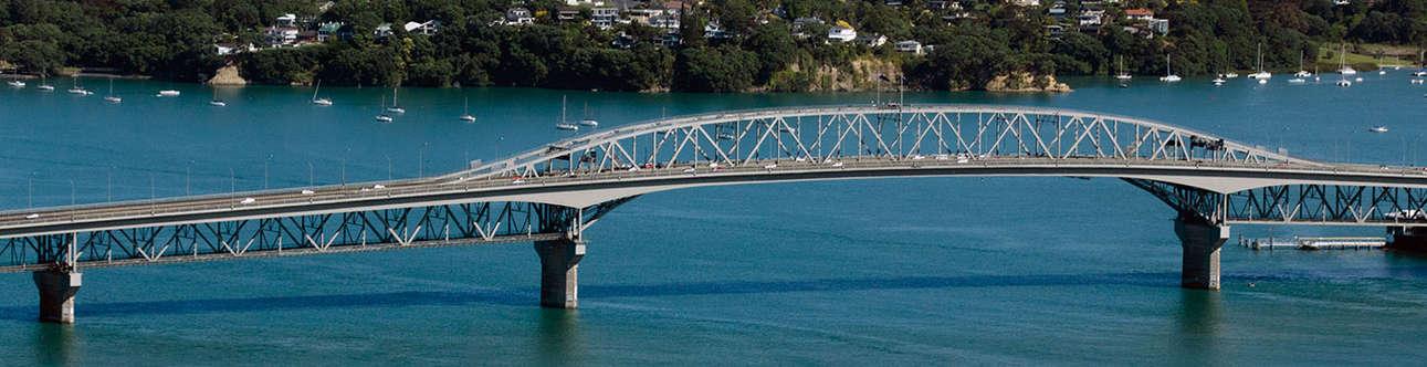 See the amazing Auckland Harbour Bridge