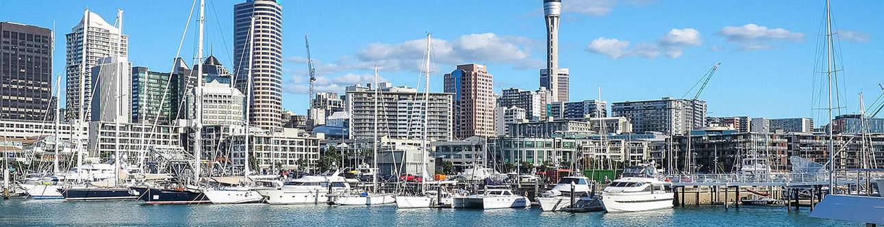 Enjoy the beautiful views of Auckland from Sky Tower