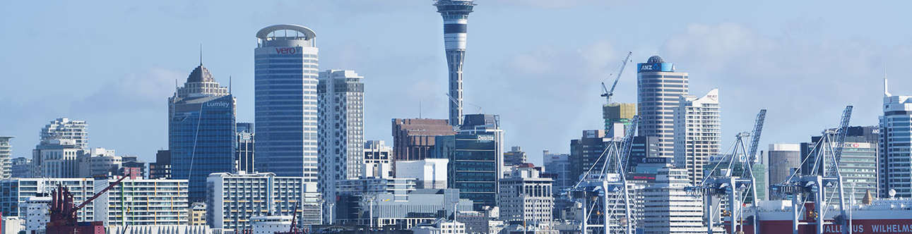 Enjoy the grand views of the Auckland skycity on this trip to New Zealand