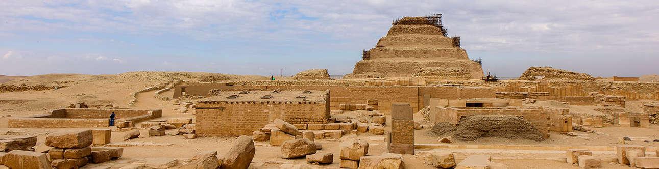 Explore the Saqqara in Egypt