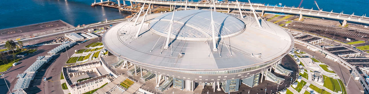 Visit the Krestovsky Stadium at St Petersburg