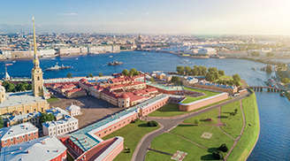 Have Fun at The Peter and Paul Fortress in St Petersburg