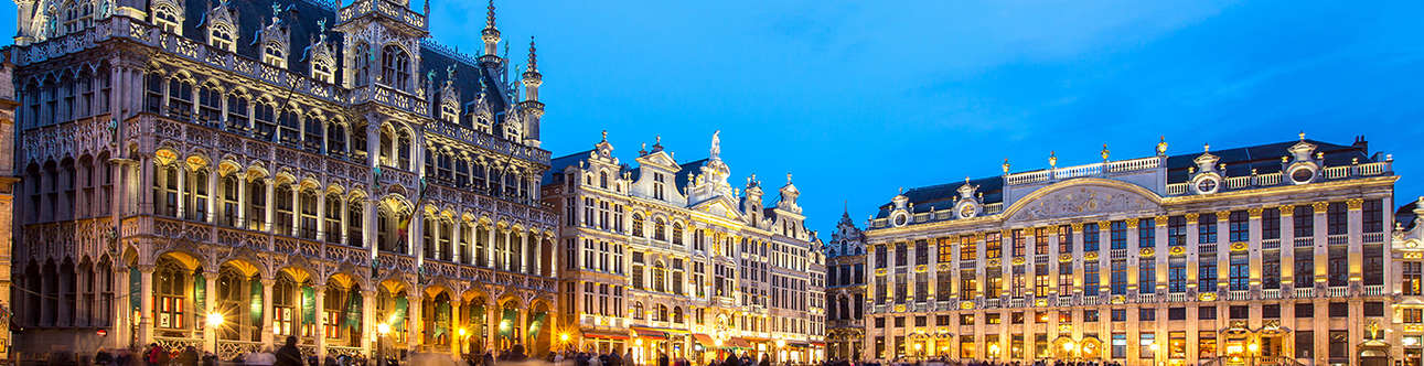 Visit the amazing Grand Place in Brussels