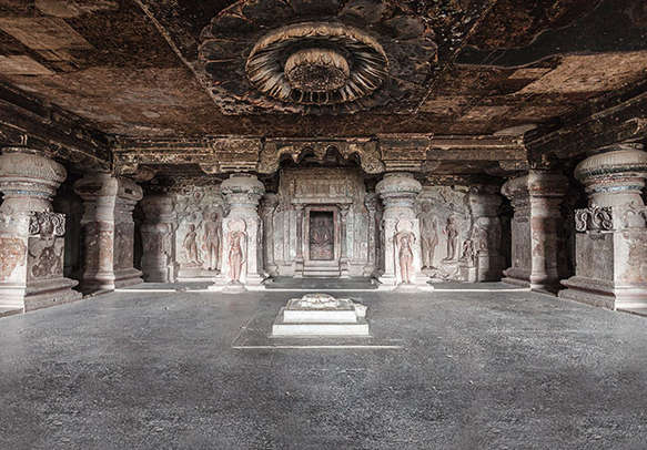 Visiting the world heritage site as declared by UNESCO, Ajanta Ellora Caves is fascinating