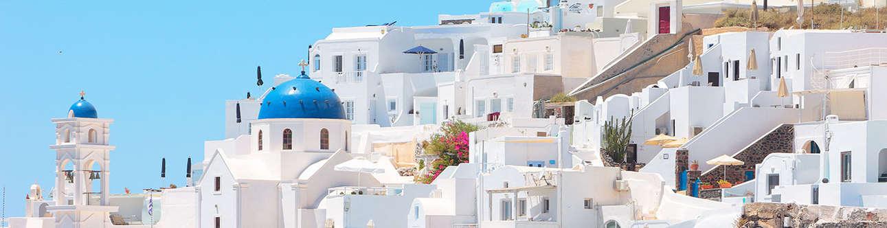 Visit the Imerovigli in Santorini
