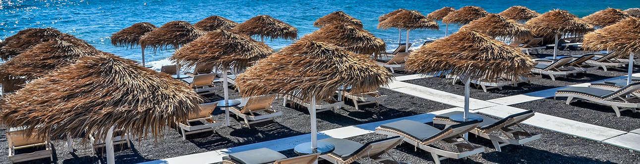Have Fun at the Kamari-Beach