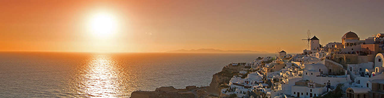 Visit the Watch Oia Castle Sunset