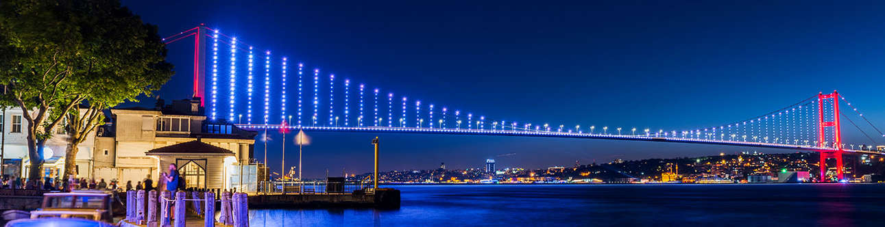 See the beauty of the city from Bosphorus