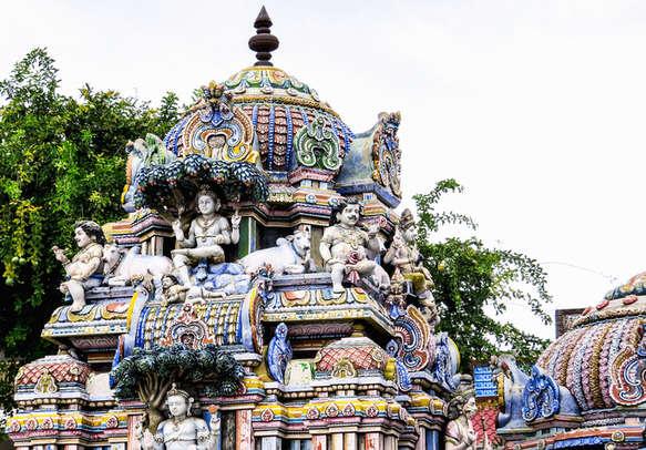 Gopuram Ancient Shiva temple