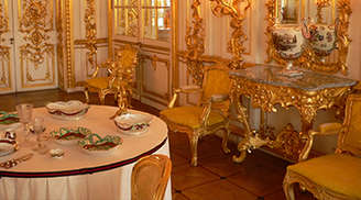Have Fun at the Amber Room in St Petersburg