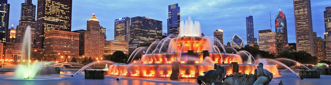 Explore the Buckingham Fountain In Chicago