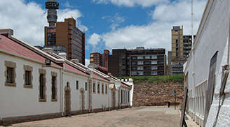 Explore the Constitution Hill in Johannesburg