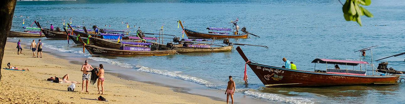 Visit the Ao-Nang-Beach in Krabi