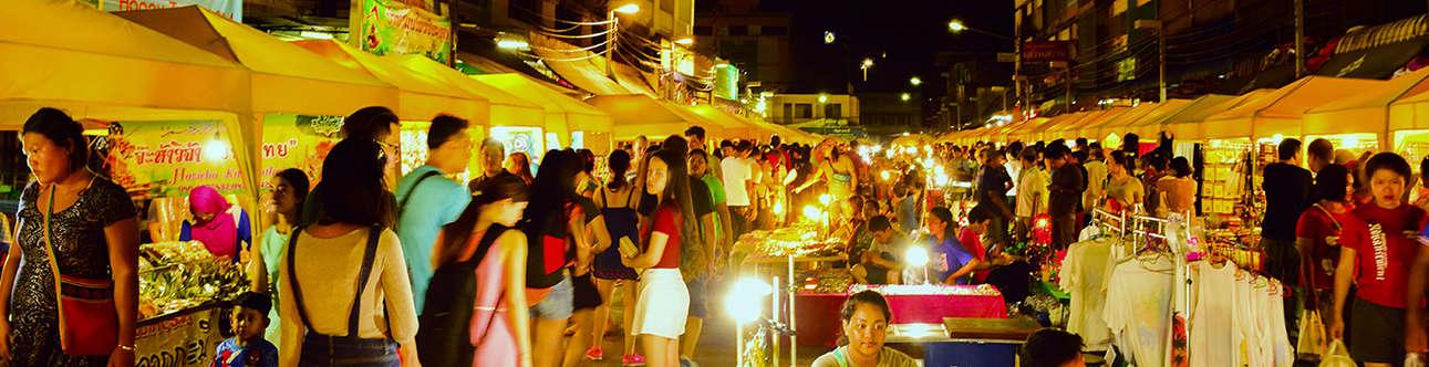 Visit the Krabi Town Night Market