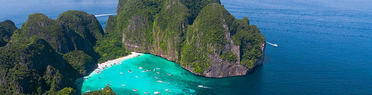 Visit the Maya-Bay in Krabi