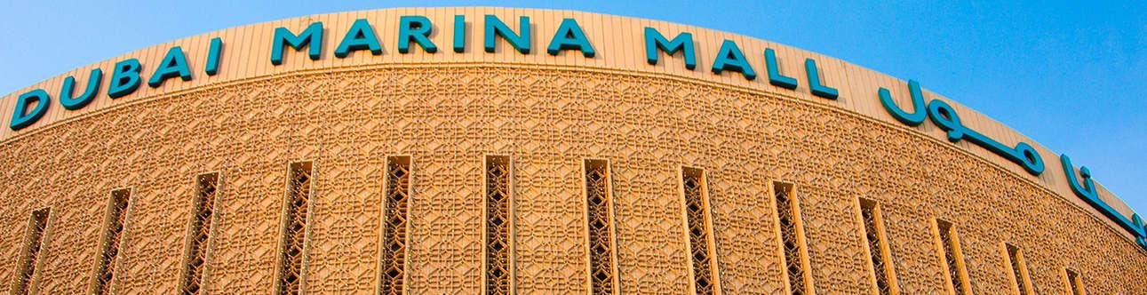 Visit the Dubai Marina Mall in Dubai