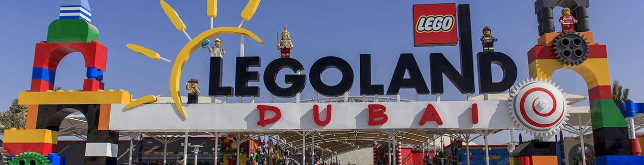 Visit the Legoland Theme Park in Dubai