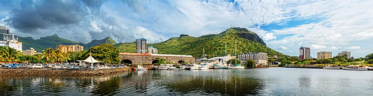 Visit the Port Louis in Mauritius