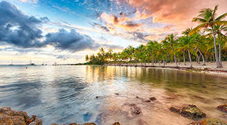 An amazing view of the Anse La Raie in Mauritius