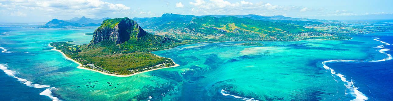 Delight in the charm of nature's splendor that is Mauritius