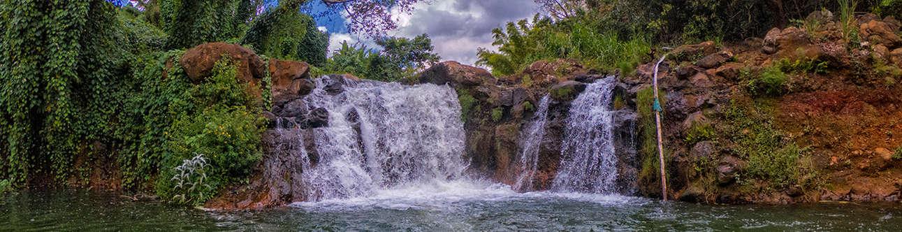 The mesmerizing view of Moka Mauritius