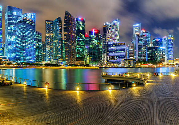 Marvel at the charisma of Singapore