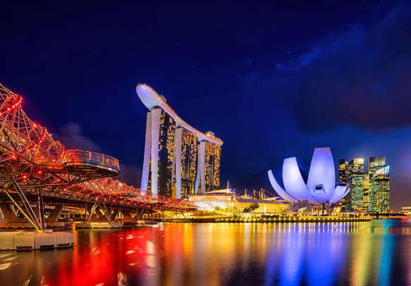 Wonderful view of Singapore