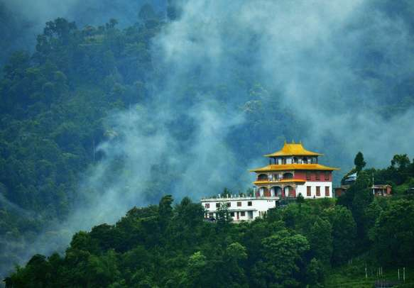 Soak in the charming beauty of Gangtok