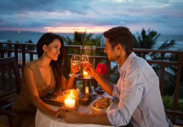 Romantic time with partner