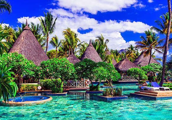 You would not want your vacation in Mauritius to end