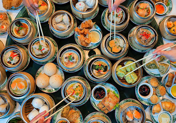 Enjoy the local street food of the city